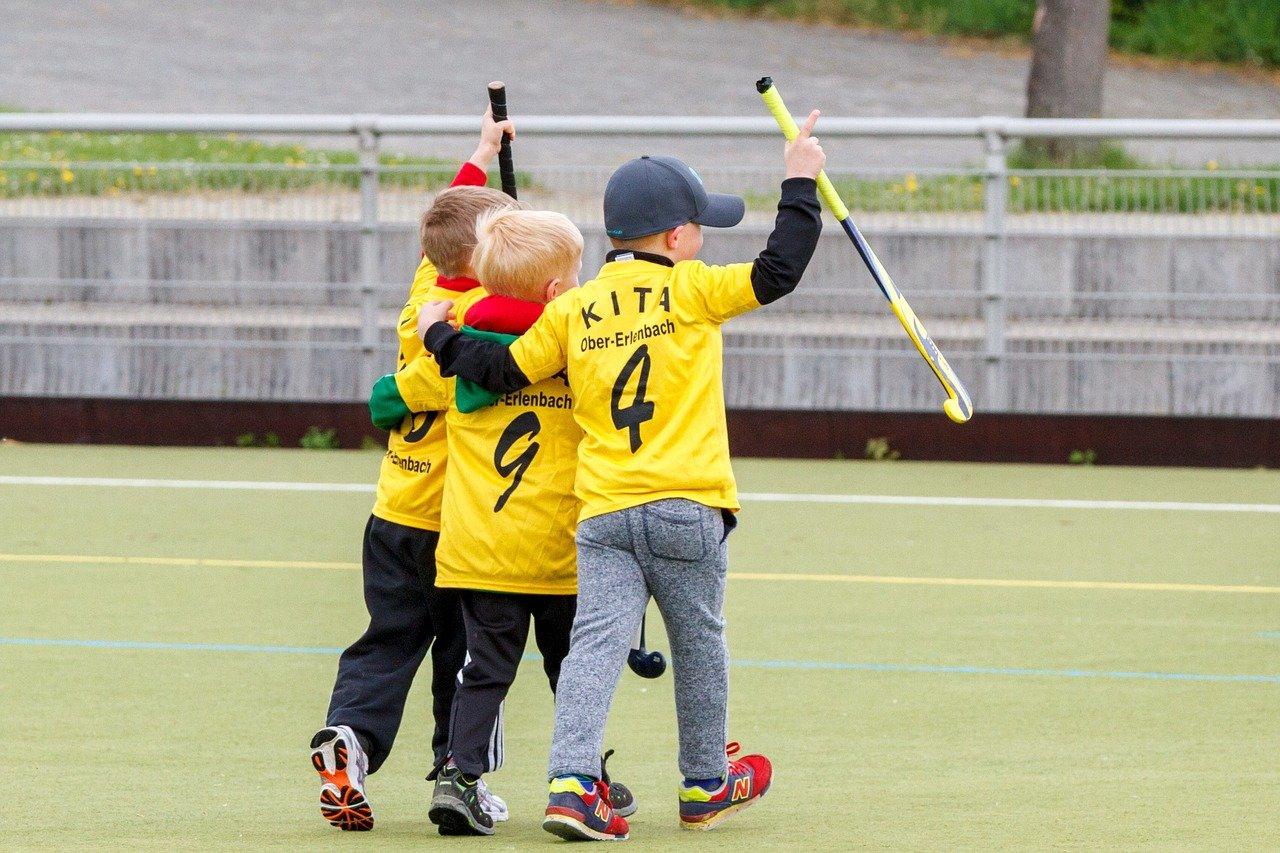 hockey, friends, sport