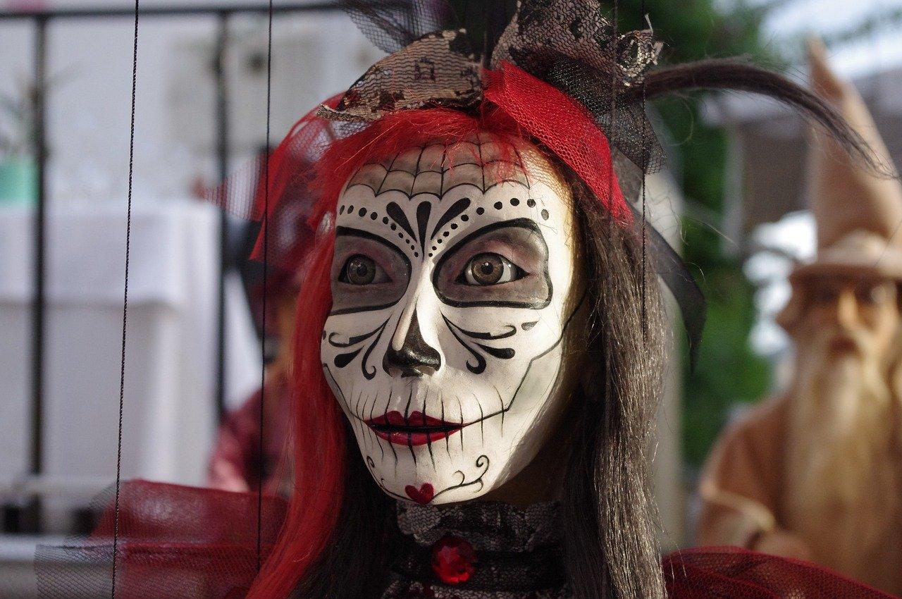 mask, figure, puppet