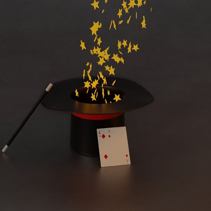 magic, hat, magical